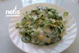 Mısırlı Semizotu Salatası (Diyet Yemeği) Tarifi