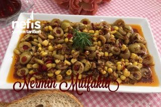 Kahvaltılık Çeşnili Zeytin Tarifi