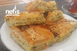 Peynirli Mücver Böreği Tarifi