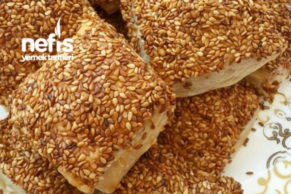 Simit Tadında Çıtır Çıtır Milföy Börekler Tarifi