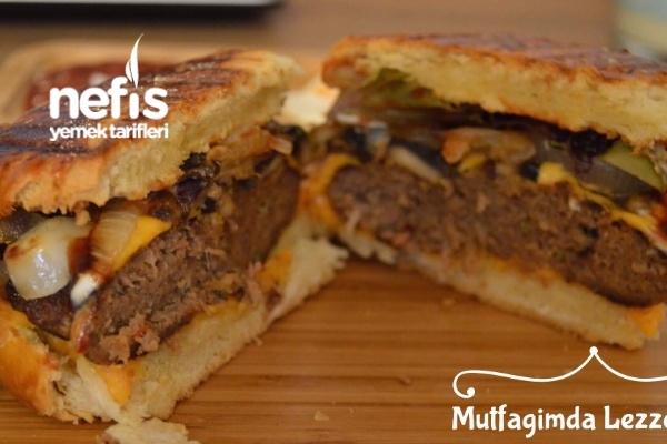 Evde Mükemmel Hamburger (Nusret Tadında) Tarifi