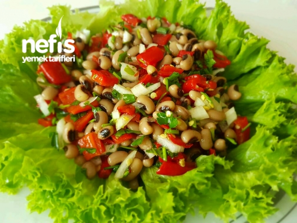 Kırmızı Köz Bıberlı Börülce Salatası
