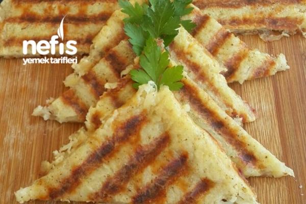 Altın Gibi Kızarmış Patates Tostu (Kahvaltıya Harika Bir Lezzet)