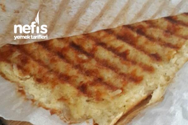 Altın Gibi Kızarmış Patates Tostu(kahvaltıya Harika Bir Lezzet)