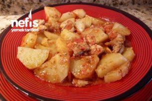 Tavuklu Sulu Patates Tarifi
