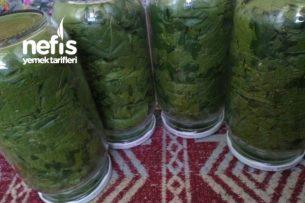 Kışa Hazırlık Cam Kavanozda Yaprak (Sağlıklı) Tarifi