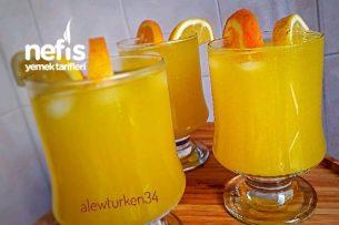 Lezzeti Şahane Portakal Limonatası (2 Litre) Tarifi