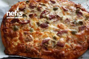 Pratik Pizza Süper Lezzet Tarifi