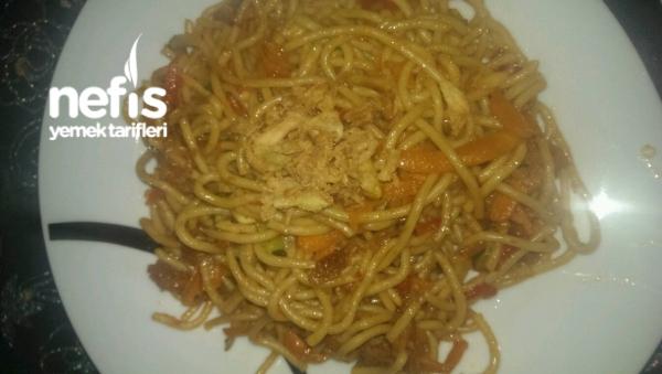 Biraz Çin Usulü Spagetti