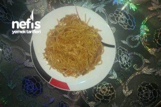 Biraz Çin Usulü Spagetti Tarifi