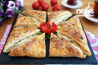 10 DAKİKADA Peynirli Zarf Böreği Tarifi - Çok kolay bir tarif