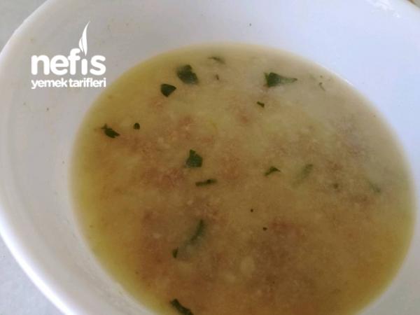 Köfteli Bulgur Çorbası