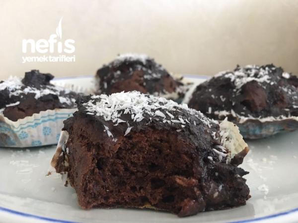 Şekersiz Browni Muffin