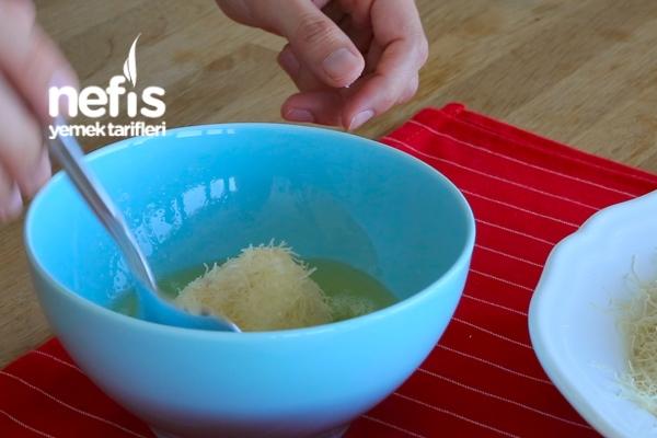 Çıtır Kadayıf Kaplı Kızarmış Dondurma Tarifi – Çooook Pratik :)