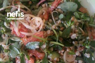 Karabuğdaylı Semizotu Salatası Tarifi