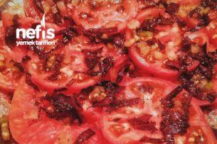 İtalyan Mutfağından Domatesli Karpaççio Tarifi