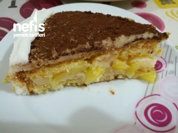 Ananaslı Pasta
