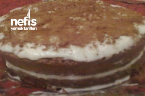 Kahveli Tiramisu (Pasta Keki İle) Tarifi