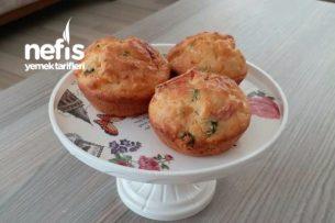 Nefis Kahvaltılık Muffin (Yumuşacık) Tarifi