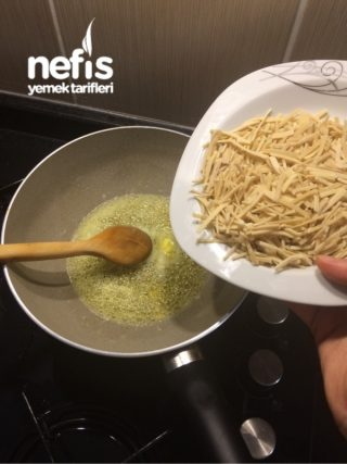 Sebzeli Tavuklu Erişte