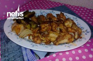 Fırında Tavuk (Evde Sosunu Kendiniz Hazırlayın) Tarifi