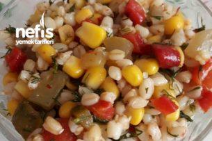 Aşurelik Buğdaydan Ekşili Salata Tarifi