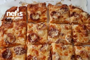 Kolay Pizza Yumuşacık Tarifi