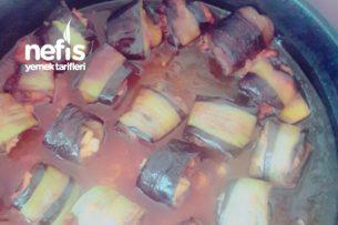 Tavuklu Patlıcan Sarması Tarifi