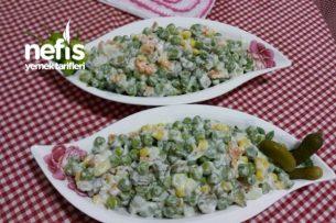 Yoğurtlu Garnitür Salata Tarifi