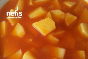 Nefis Sulu Patates Yemeği Tarifi