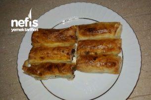 Sodalı Kıymalı Peynirli Börek Tarifi