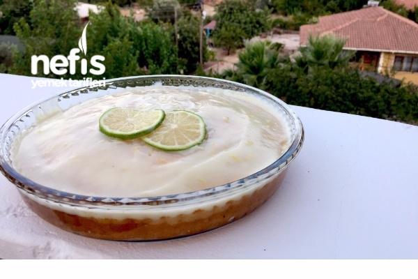 Kremalı Limonlu Yaz Keki