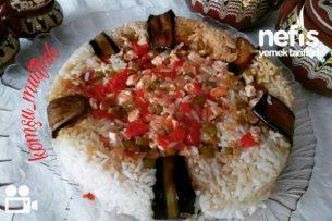 Patlıcanlı Pilav Videolu Tarifi