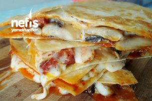 Pizza Quesadillas (Amerikan Pizzası) Tarifi