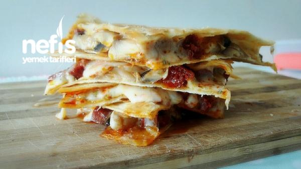 Pizza Quesadillas (amerikan Pizzasi)