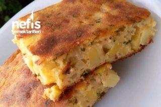 Börek Tadında Patatesli Kek Tarifi