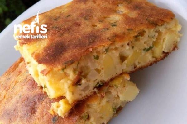 Börek Tadında Patatesli Kek