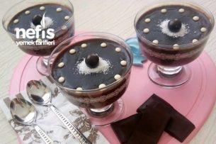 Gerçek Çikolatalı Puding Tarifi