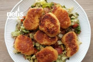 Nugget Salatası Tarifi