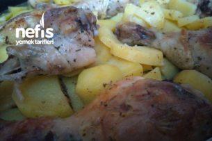 Fırın Poşetinde Tavuk Patates Tarifi