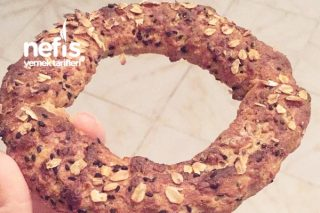 Fit Simit (Sadece 180 Kalori) Tarifi