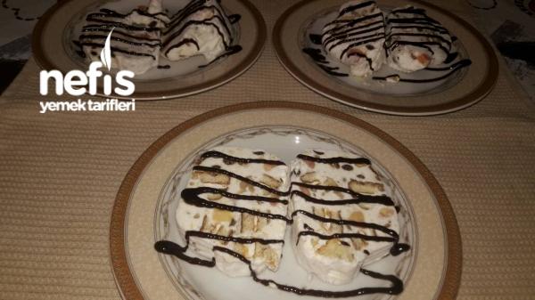 Soğuk Pasta dondurma tadında (parfe 15 Dk Da Hazır)