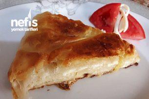 Tavada Çecil Peynirli Börek Tarifi