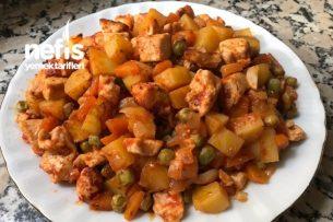 Tavuklu Çiftlik Kebabı (Fırın Poşetinde) Tarifi