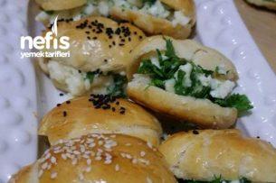 Atıştırmalık Mini Sandviç Poğaça Tarifi