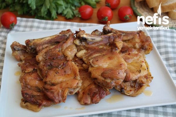 Fırında Galeta Unlu Çıtır Tavuk Pirzola Videosu