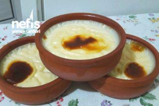 Fırın Sütlaç (Yoğun Pirinç Sevmeyenlere Tam Ölçülü) Tarifi