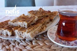 Baklavalık Yufkayla (Haşhaşlı Tahinli) Pileli Börek Tarifi