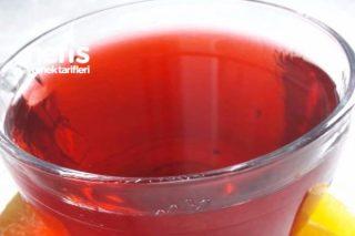 Hibisküs Çayı (Nar Çiçeği Çayı) Yağları Yakıyor Tarifi