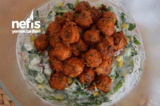 Bulgur Köfteli Doyuran Semizotu Salatası Tarifi